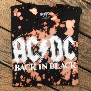 Bleach Splatter AC/DC Tee